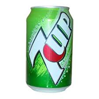 7up 12 oz can