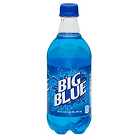 big blue soda