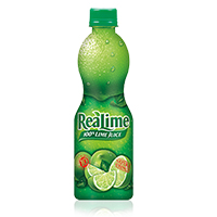 realime juice is fresh lime flavour